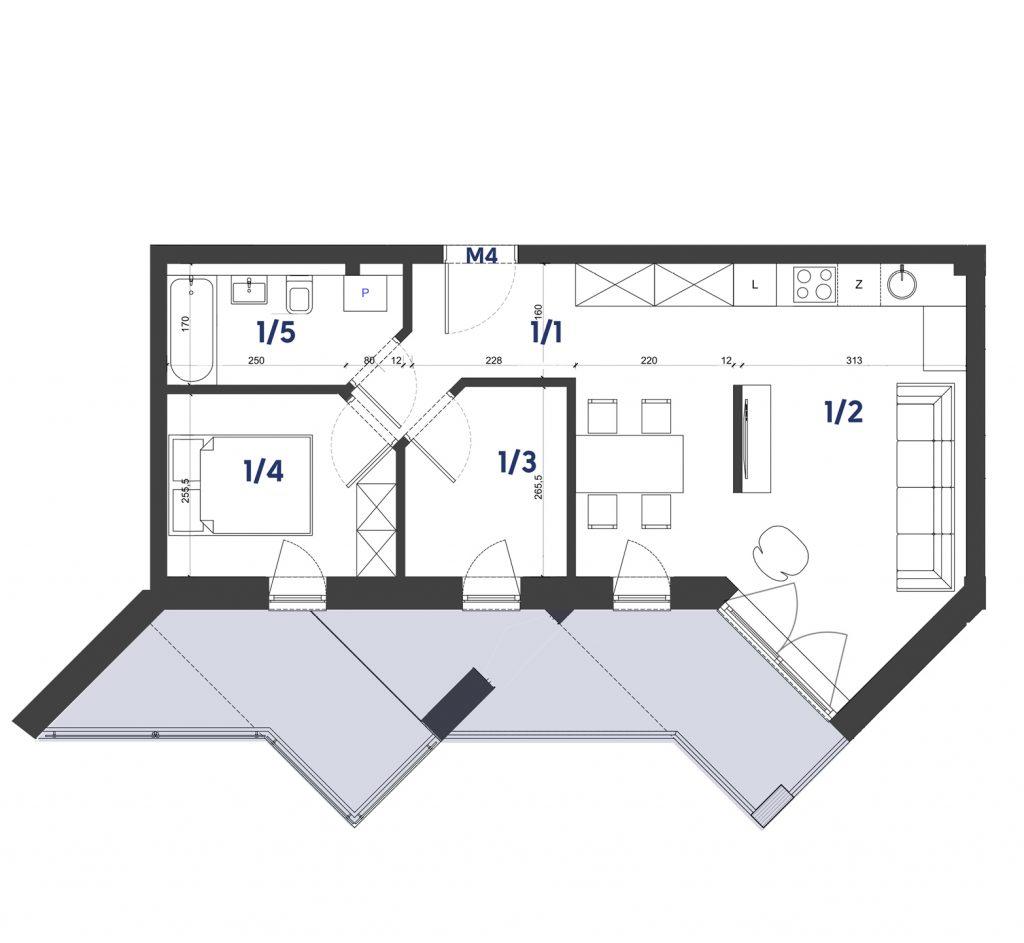 Mieszkanie M4
