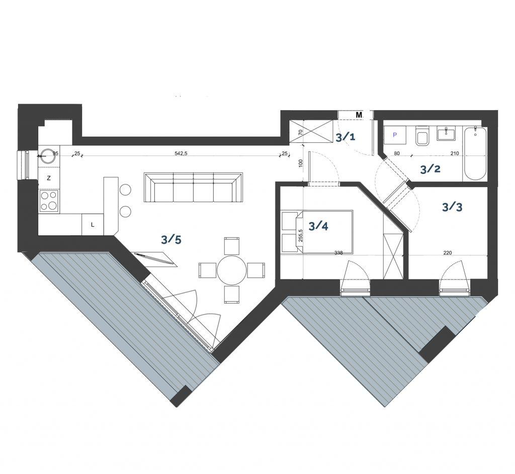 Mieszkanie M19