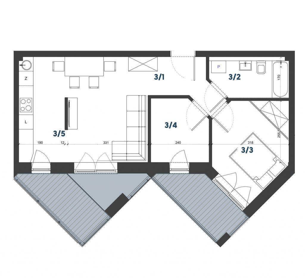 Mieszkanie M20