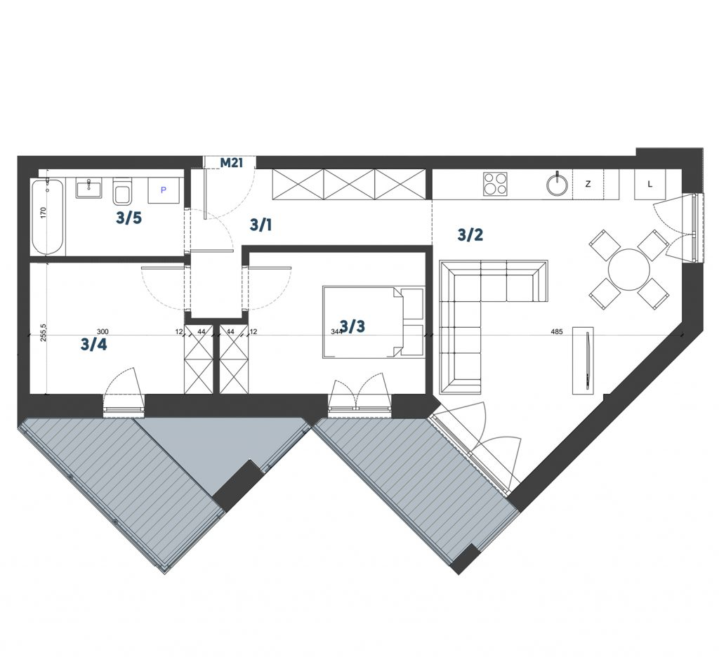 Mieszkanie M21